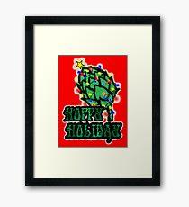 Hoppy Holiday Framed Print