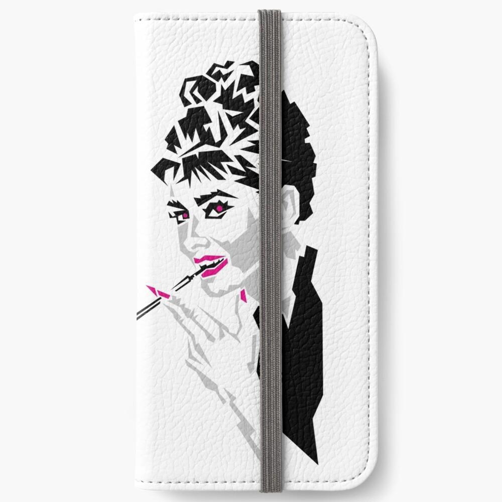 Audrey iPhone Flip-Case