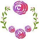 Floral Roses by elledeegee