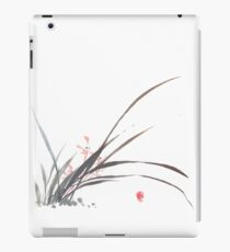 Chinese/Japanese freehand style orchid painting iPad Case/Skin