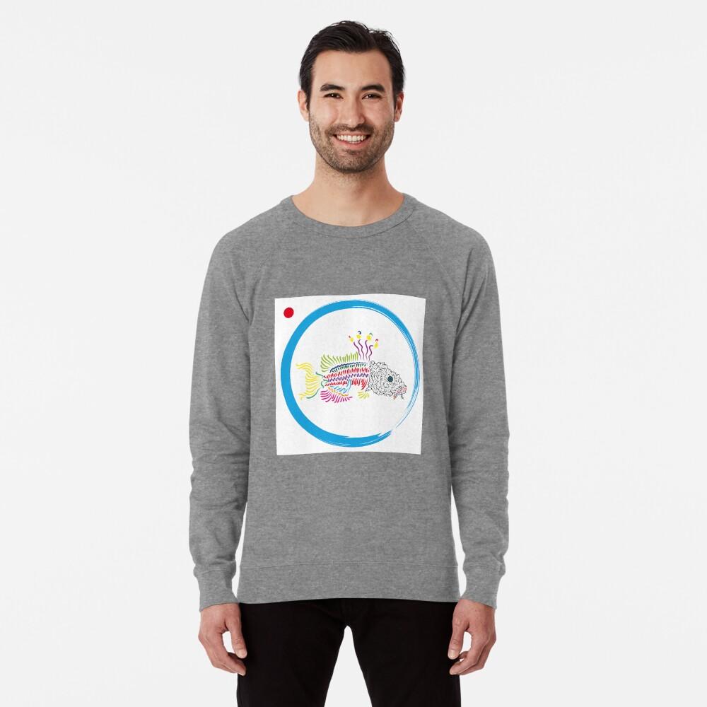 Koi Leichtes Sweatshirt Vorne