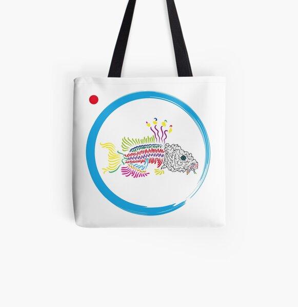 Koi Allover-Print Tote Bag