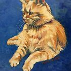 Shirl. Oil on canvas 40x30cm by Elizabeth Moore Golding