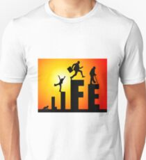 life getting old age generations Unisex T-Shirt