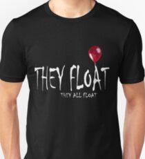 it MOVIE 2017 THEY FLOAT Unisex T-Shirt