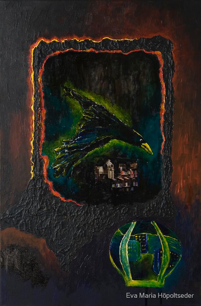 Der Rabe by Eva Maria Höpoltseder