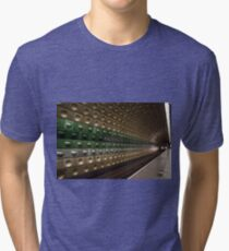Malostranska, Subway station in Prague, Czech Republic Tri-blend T-Shirt