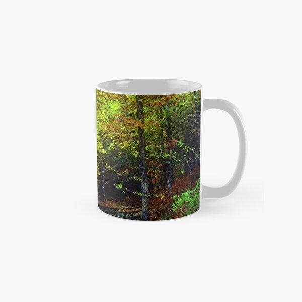 Train Tracks into the Woods Classic Mug