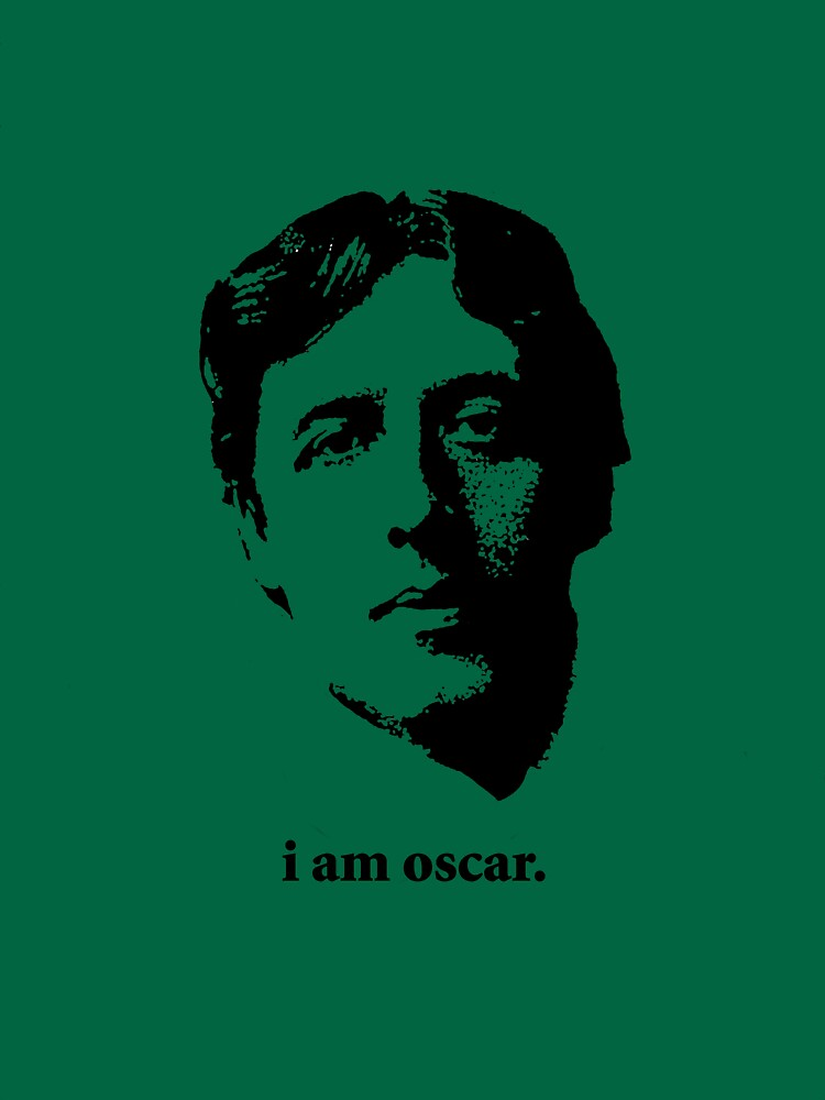 Oscar is Wilde. by bauman