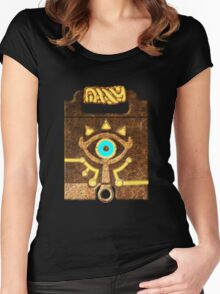 sheikah slate official case design Women's Fitted Scoop T-Shirt