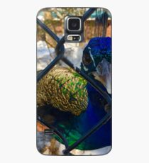 Sassy Peacock Case/Skin for Samsung Galaxy