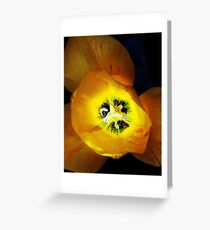 Light bulb. Greeting Card