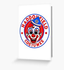 Haddonfield costumes Greeting Card
