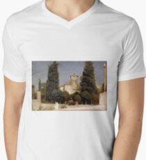 Frederic, Lord Leighton - The Villa Malta, Rome T-Shirt
