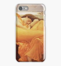 Frederic Leighton - Flaming June iPhone Case/Skin