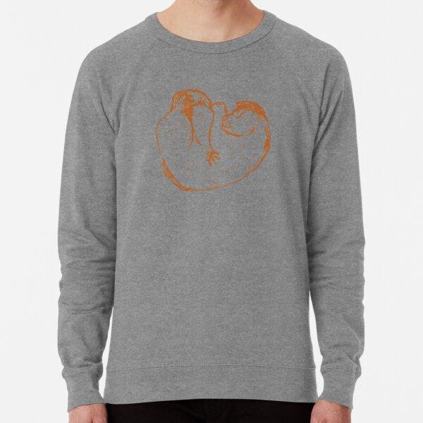 Curl Up Cat Lightweight Sweatshirt