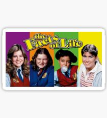 Facts of Life Sticker Sticker