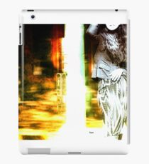 Woman at the Crosswalk  iPad Case/Skin