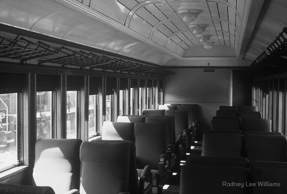 Empty Railway Coach by Rodney Williams