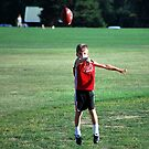 Flag Football Practice - Air DJ by Karen Ashenberner