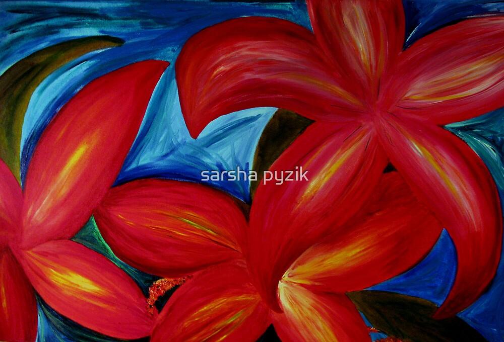 Melannies Flowers by sarsha pyzik