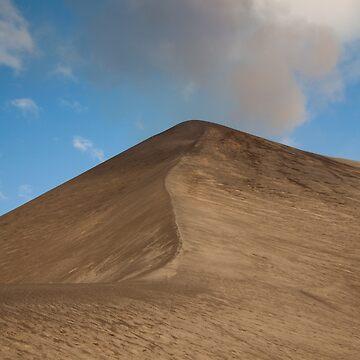 Sandy Volcano by joffotron