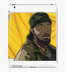 Omar l The Wire (Digital Fabric Collage) iPad Case/Skin