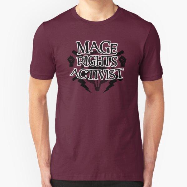 Mage Rights Activist Slim Fit T-Shirt