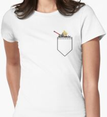 Pocket Cloud - Super Smash Bros. Womens Fitted T-Shirt