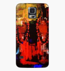 Digital Tribal Oil Painting  Case/Skin for Samsung Galaxy