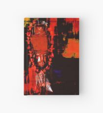 Digital Tribal Oil Painting  Hardcover Journal
