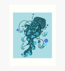 String Cheese Incident Jelly Fish Art Print