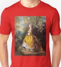 Franz Xaver Winterhalter - The Empress Eugenie (Eugenie De Montijo) Unisex T-Shirt