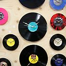 Wall Of Vinyl Records by lucindaD