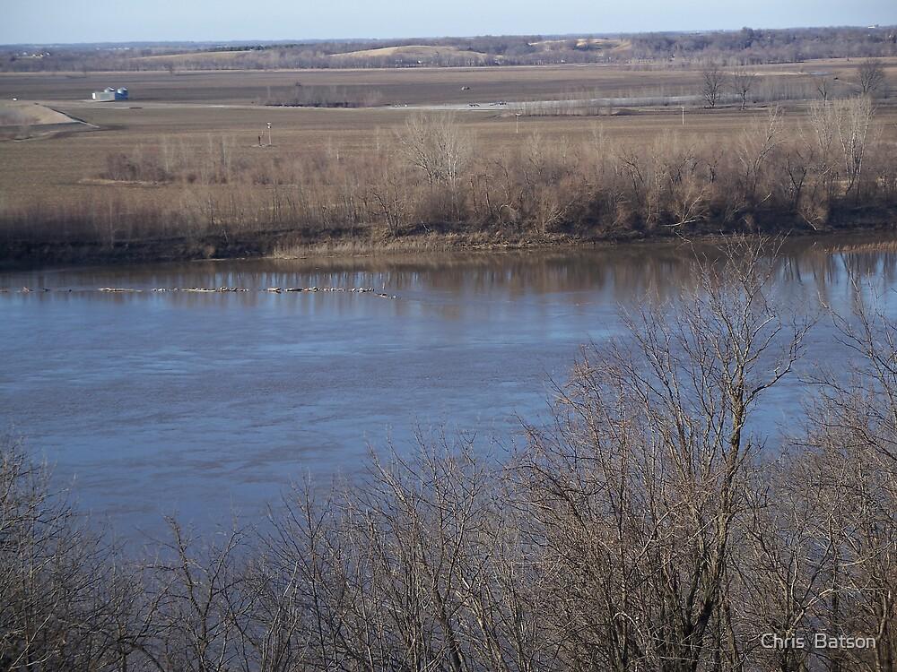 Missouri River by Chris  Batson