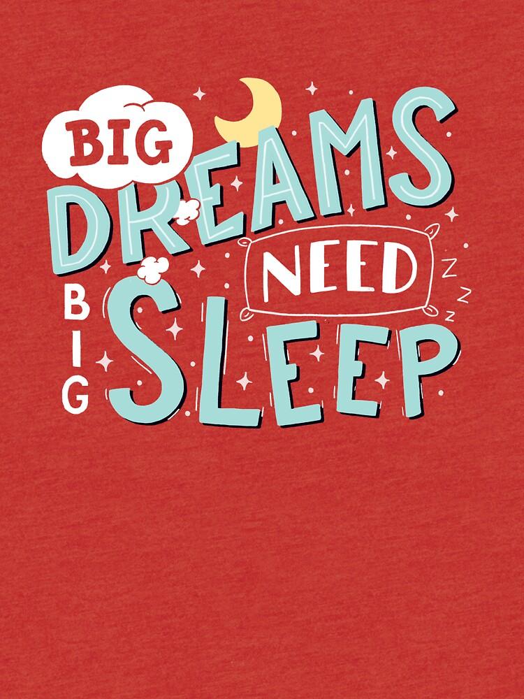 Big dreams need big sleep - Sky blue by romaricpascal
