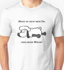 Nicht mein Tag Schaf Unisex T-Shirt