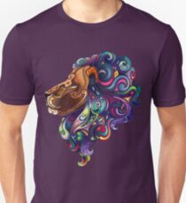 Amazing colorful lion Unisex T-Shirt