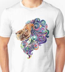 Amazing colorful lion Unisex T-Shirt