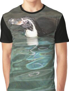 Swimming penguin Graphic T-Shirt