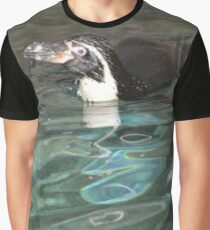 Swimming penguin Graphic T-Shirt