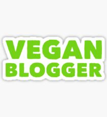 VEGAN BLOGGER Sticker