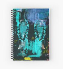 Digital African Tribal Jewelry Art Spiral Notebook