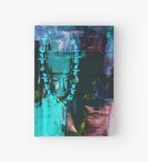 Digital African Tribal Jewelry Art Hardcover Journal