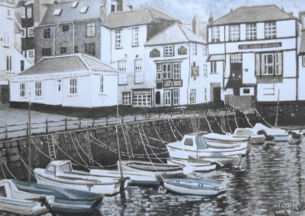 Custom House Quay, Falmouth by Tonkin