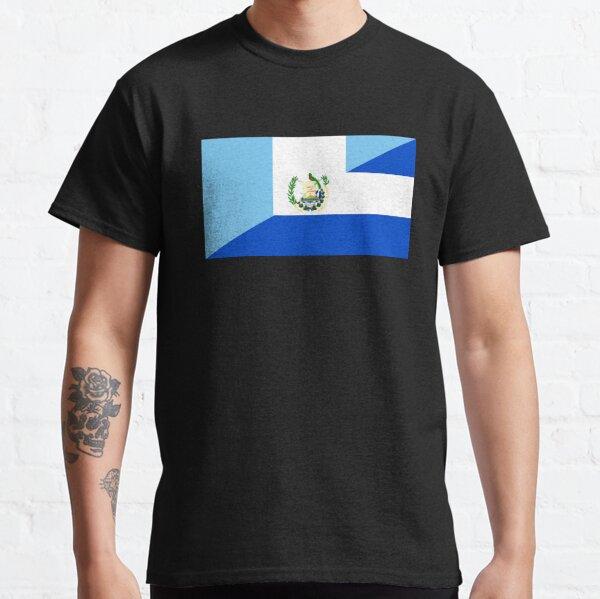 bandera de guatemala el salvador Camiseta clásica