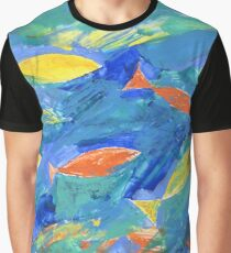 Golden fishes #1 Graphic T-Shirt