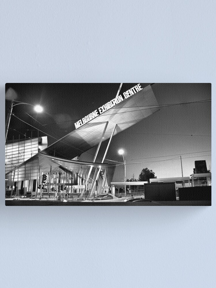 Alternate view of Melbourne Series - Exhibition Centre Canvas Print