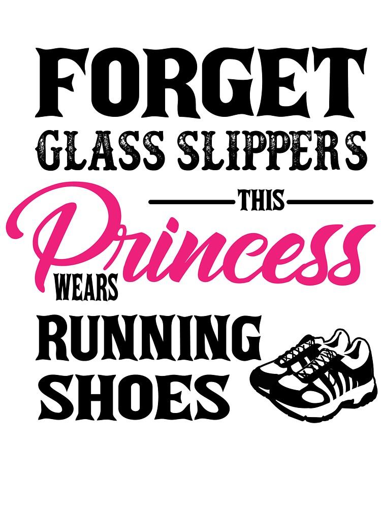 princess running shoes