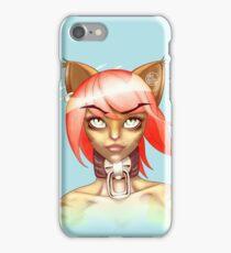 Catgirl Portrait iPhone Case/Skin